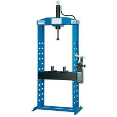 651B Пресс гидравлический, усилие 10т. напольный, ручной привод OMA (Италия)