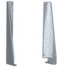 01.А2 Кронштейны (левый и правый) для крепления перфорации к столешнице.