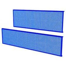 07.014 5015 Упаковка перфорированных панелей.1390х480х50мм. синий.