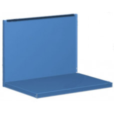 01.500 5015 Комплект для 2ТВ: полка/стенка (синий)