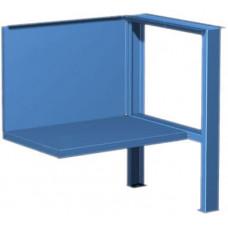 01.501 5015 Комплект для 1ТВ полка/стенка и верстачная опора (синий)
