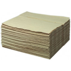 10444 00 Multizell Салфетки очищающ, бежевые 4 слойные, гофрир. 32*34см 1000шт в кор.