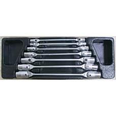 ACK 384006 Набор ключей торцевых карданных 6 19мм в ложементе