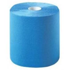 11436 01 Muiticlean очищающие салфетки синие.2 х слойные, гофриров,влагост. 36*36см 1000шт.в рул