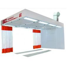 GL 422 Пост подготовки к окраске с подогревом и с диагональным забором воздуха