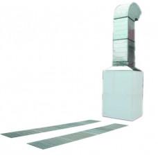 GL 511 Пост подготовки вытяжной вентилятор два ряда напольных решеток