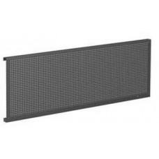 07.019S-9007 Упаковка перфорированных панелей серии Стандарт (в упак 2шт) 1900х480х40мм-серый металл